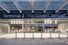 Terminal 2 - Entrance