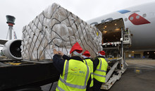 Forget sleighs and reindeer - Heathrow's got your Christmas cargo covered