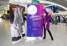 Joanna Lumley and Heathrow celebrate 70 years