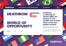 Heathrow helps SMEs take off into a World of Opportunity