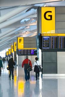 Terminal 5 departures