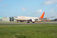Heathrow Airport, Air India B787 Dreamliner aircraft