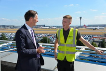 Heathrow CEO with Apprentice