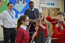 Heathrow Primary School Challenge with Spelthorne's MP Kwasi Kwarteng