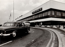 Terminal 1 drop off area - 1969