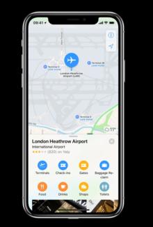 Heathrow brings detailed terminal maps to Apple Maps
