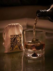 Designer Giles Deacon creates bespoke Whisky stones for Heathrow