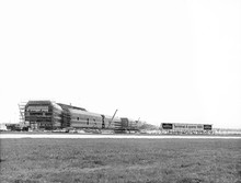 Terminal 4 under construction
