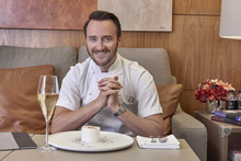 Jason Atherton at Heathrow VIP