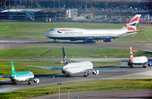 British Airways Boeing 747 400