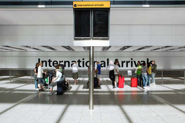 Heathrow - International Arrivals