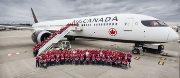 UK team sets off from Heathrow to compete at the Invictus Games Toronto 2017