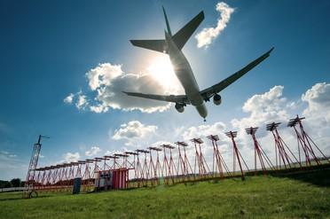 Aircraft arriving
