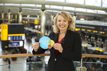 Living Wage - Heathrow Chief People Officer Paula Stannett