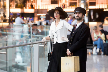 Icelandair 'Ahead of Time' performance at Heathrow