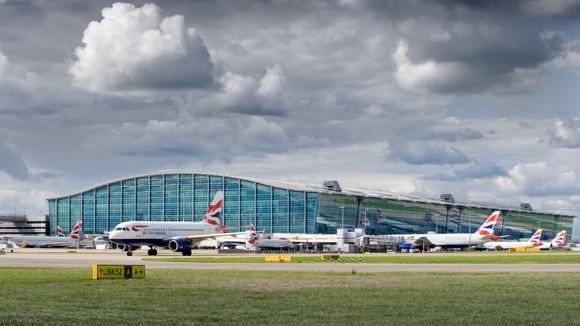 Terminal 5 exterior