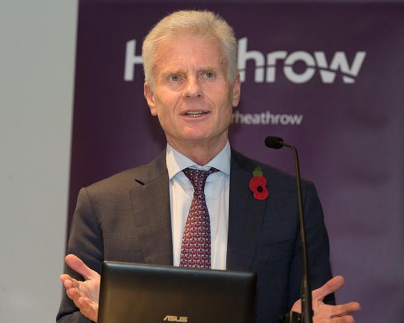 Lord Deighton addresses Heathrow Business Summit 2017