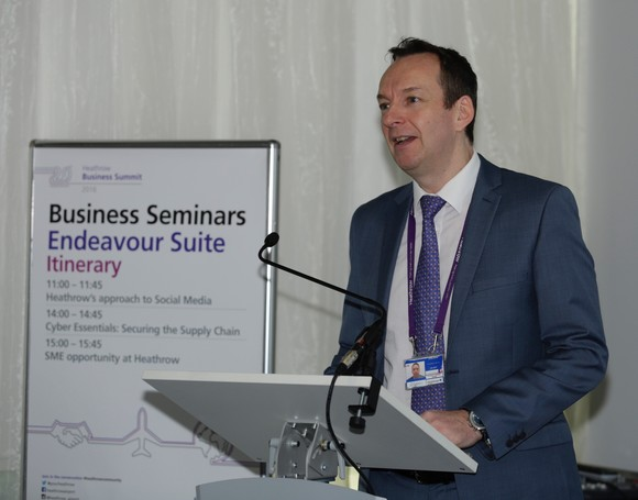 Ian Ballentine, Procurement Director