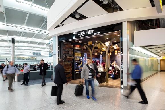 Harry Potter at Terminal 5 - 3