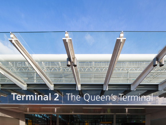 Terminal 2: The Queen's Terminal signage
