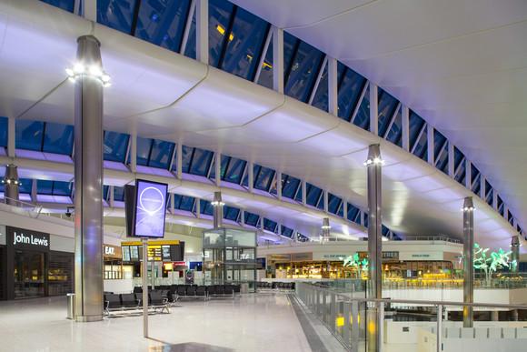 Terminal 2 - Departures roof