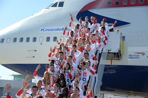 Olympics Arrival Rio 2016