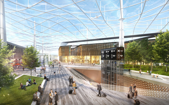 Grimshaw concept design of a future Heathrow