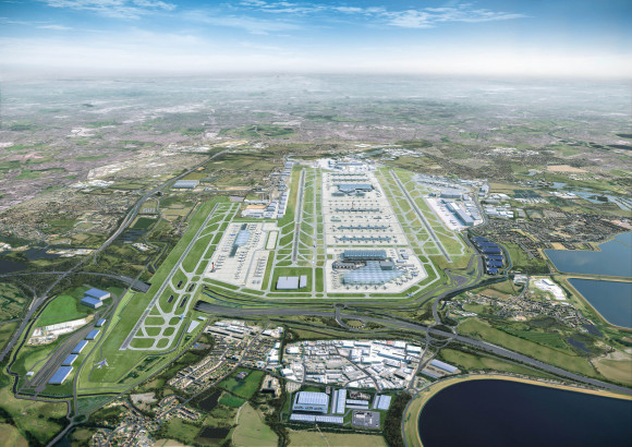 Heathrow Expansion Masterplan in 2050 (2)