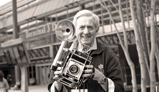The Godfather of Heathrow revealed on film